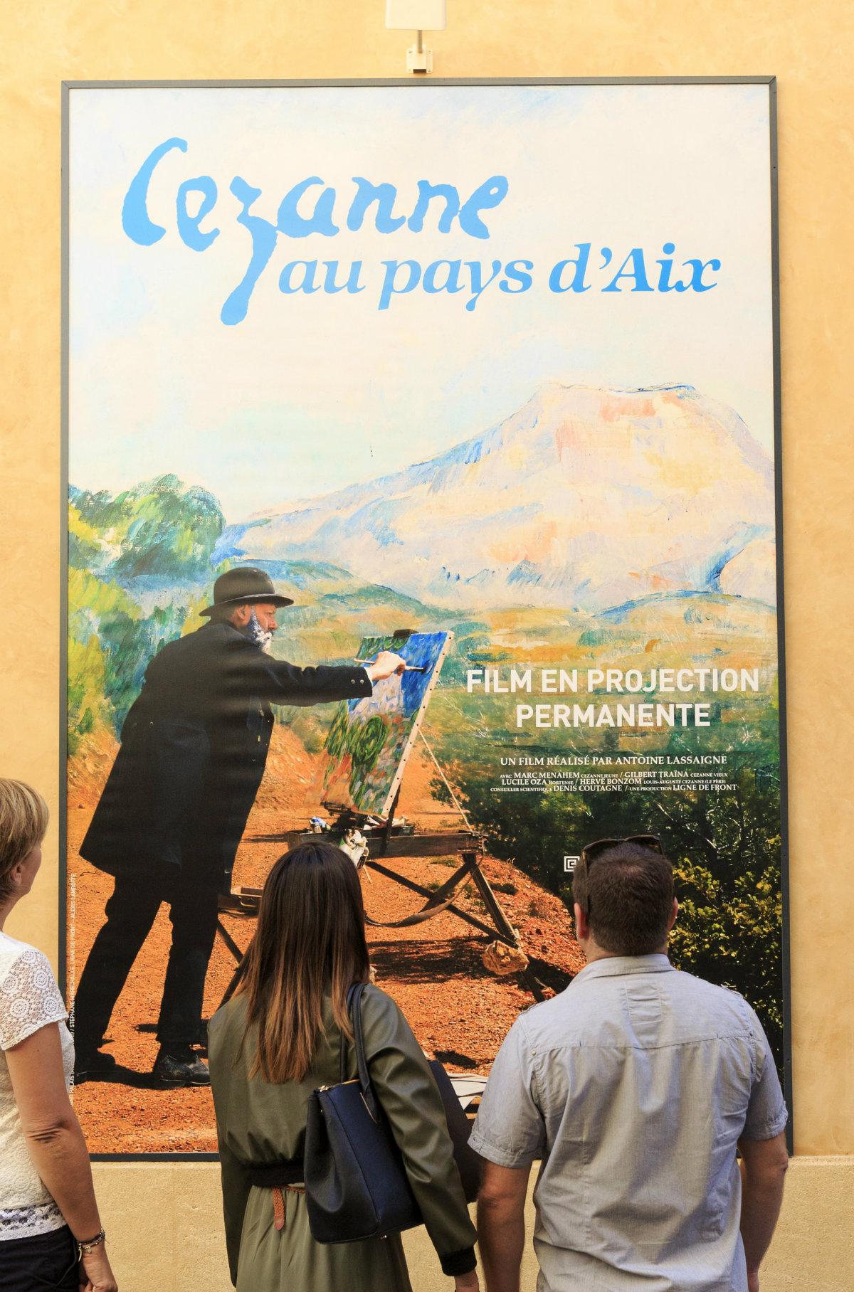 Cezanne affiche